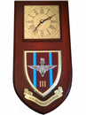 3rd Bn Parachute Regiment Wall Plaque Clock